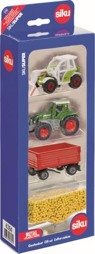 SIKU 6304 SUPER - Geschenkset Landwirtschaft, 1:55, ab 3 Jahre
