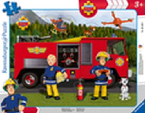 Ravensburger 06169 Rahmenpuzzle Rettung durch Sam 8 Teile