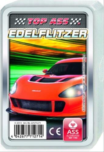 ASS TOP ASS®  Edelflitzer. Kartenspiel