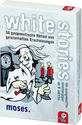 moses black stories Junior - white stories - 50 gespenstische Rätsel von geist
