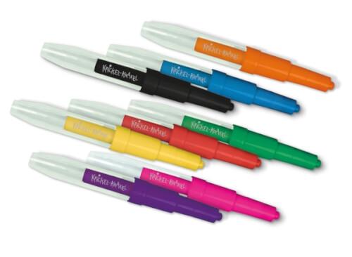 Krickel-Krakel Pustestifte, 8 Stifte, Format Box: 15,5x15,5x 2 cm, ab 3 Jahren