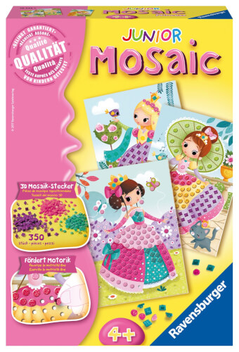 Ravensburger 18342 Mosaic Junior 4+: Princess