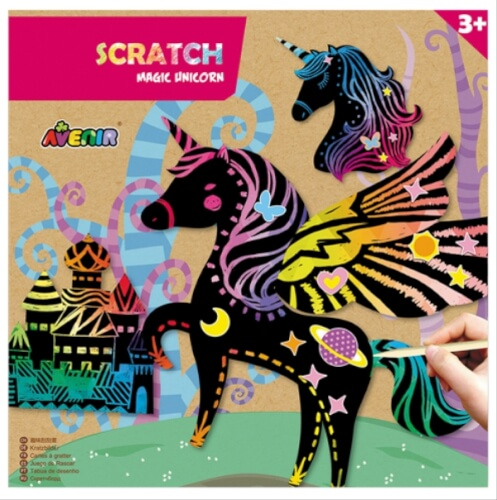 Scratch Magic Unicorns