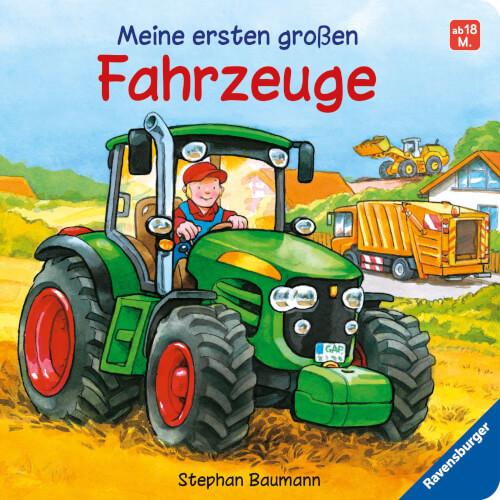 Ravensburger 43369 Meine ersten großen Fahrzeuge