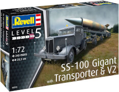 REVELL SS-100 Gigant + Transporter + V2 1:72