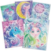 Nebulous Stars Magische Aquarelle