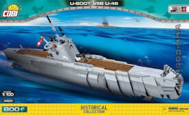 COBI 4805 WS GERMAN SUBMARINE TYPE VIIB U-BOOT