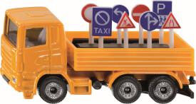 SIKU 1322 Super LKW mit Verkehrszeichen, ab 3 Jahre