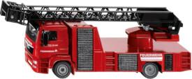 SIKU 2114 MAN Feuerwehr Drehleiter, ab 3 Jahre