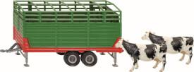 SIKU 2875 FARMER - Viehanhänger, 1:32, ab 3 Jahre
