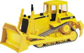Bruder 02422 CAT Bulldozer, Maße: 40 x 19,5 x 18 cm, Kunststoff, ab 3 Jahre