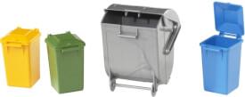 Bruder 02607 Zubehör: Mülltonnen-Set