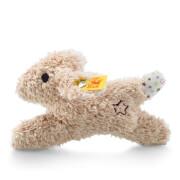 Steiff Mini Rassel-Knister Hase, beige, 11 cm