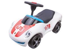 BIG Rutschfahrzeig Baby-Porsche ''Premium'', ca. 73x35x29 cm, weiß, ab 18 Monate