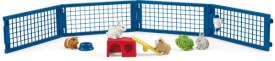 Schleich Farm World 42500 Zuhause für Kaninchen und Meerschweinchen