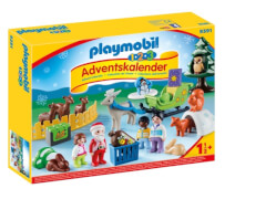 PLAYMOBIL 9391 1.2.3 Adventskalender ''Waldweihnacht der Tiere''