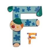 Buchstaben Clown F