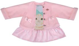 Schildkröt Puppen-Kleid mit Jacke ''Kätzchen'' (2in1)