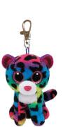 TY Key Clip Leopard Dotty (Beanie Boo's), ca. 6x5x9 cm