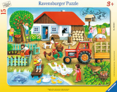 Ravensburger 06020 Rahmenpuzzle Was gehört wohin? 15 Teile