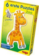 HABA - 6 erste Puzzles - Zoo, ab 2 Jahren