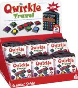Schmidt Spiele 49270 Qwirkle Travel, 2 bis 4 Spieler, ab 6 Jahre
