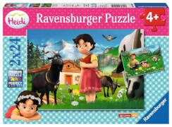 Ravensburger 09091 Puzzle Heidi in den Alpen 2 x 24 Teile