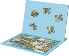 Die Spiegelburg - Magnetpuzzle - Wir fahren mit der Eisenbahn, 30 Teile, ab 4 Jahren