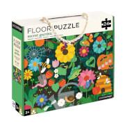 Petitcollage - Floor Puzzle Garten 24 Teile