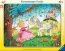Ravensburger 05027 Puzzle: Im Land der kleinen Prinzessin 30-48 Teile