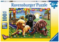 Ravensburger 12886 Puzzle Hunde Picknick 100 Teile XXL