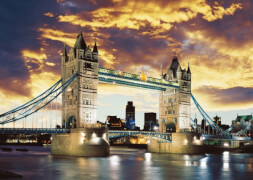 Schmidt Spiele Puzzle Tower Bridge London 1000 Teile