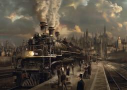 Schmidt Spiele Puzzle Lokomotive, 1000 Teile