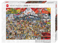 Puzzle British Music History Standard 2000 Teile