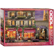 EuroGraphics Puzzle Zum Chapeau Rouge Restaurant in Paris 1000 Teile