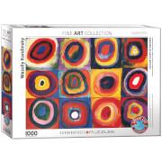 EuroGraphics Puzzle Farbstudie Quadrate von Wassily Kandinsky 1000 Teile