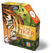 Madd_Capp - Shape Puzzle Tiger 586 Teile