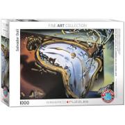 EuroGraphics Puzzle Weiche Uhr im Moment ihrer ersten Explosion von Salvador Dalí 1000 Teile