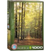 EuroGraphics Puzzle Waldweg 1000 Teile