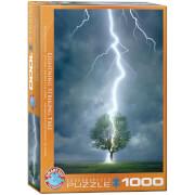 EuroGraphics Puzzle Blitzeinschlag 1000 Teile