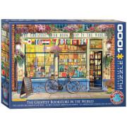 EuroGraphics Puzzle Der großartigste Buchladen der Welt 1000 Teile