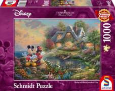 Schmidt Spiele Puzzle: Disney, Sweethearts Mickey & Minnie 1000 Teile