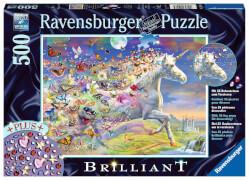 Ravensburger 15046 Puzzle Schmetterlingseinhorn 500 Teile
