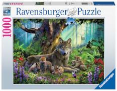 Ravensburger 15987 Puzzle WÖLFE IM WALD 1000 Teile