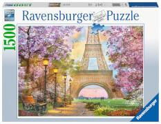Ravensburger 16000 Puzzle Verliebt in Paris 1500 Teile