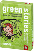 moses black stories Junior - green stories - 50 abenteuerliche Rätsel aus wild
