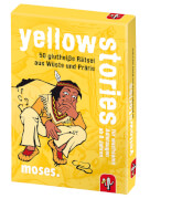 moses black stories Junior - yellow stories - 50 glutheiße Rätsel aus Wüste un