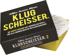 Klugscheisser 2 Black Edition - Edition krasses Wissen