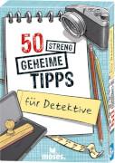 Karten, ''50 streng geheime Tipps für Detektive''