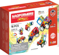 Magformers Vehicle Wow Set 16 teilig Magnetspiel